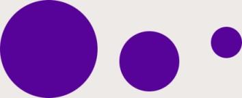 Drei violette Kreise