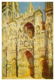Die Kathedrale von Rouen im Sonnenlicht - Harmonie in Blau und Gold, 1893-2