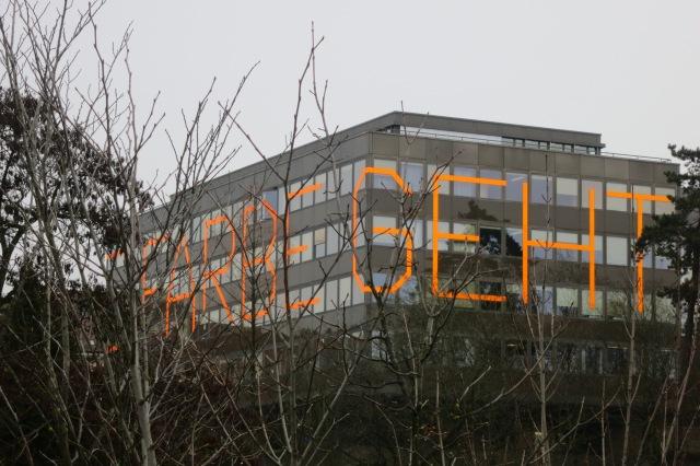 Schule für Gestaltung an der Schänzlihalde in Bern