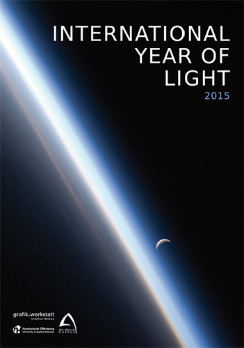 Plakat zum International Year of Light von Luis Arellano (University of Applied Science Offenburg)