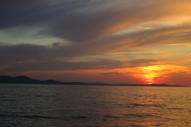 Sunset at Zadar (Croatia)