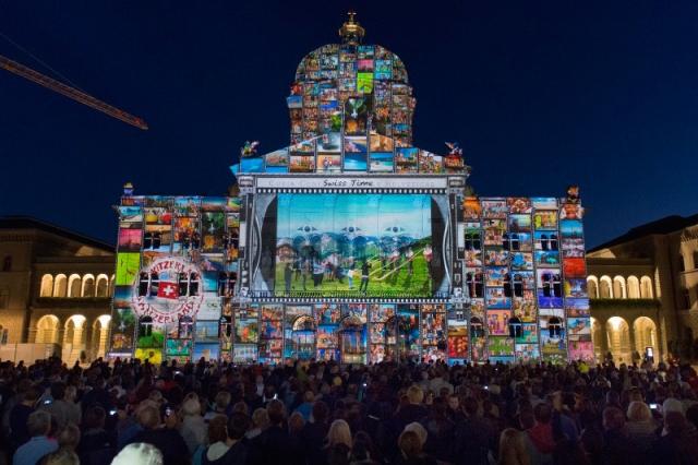 Premiere von Rendez-vous Bundesplatz 2014