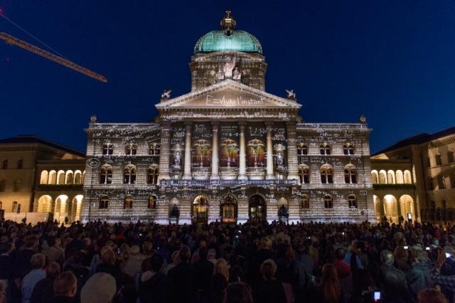 E = Vivre l'instant an der Premiere von Rendez-vous Bundesplatz 2014 (@Rendez-vous Bundesplatz)