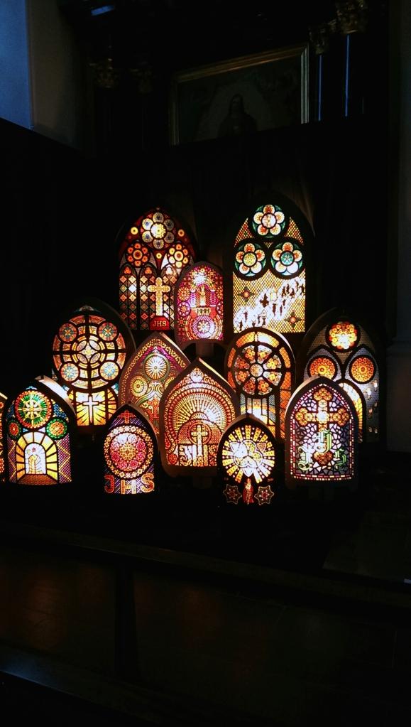 Iffelen Ausstellung vom 1. Advent 2014, Kirche St. Peter und Paul, Küssnacht am Rigi