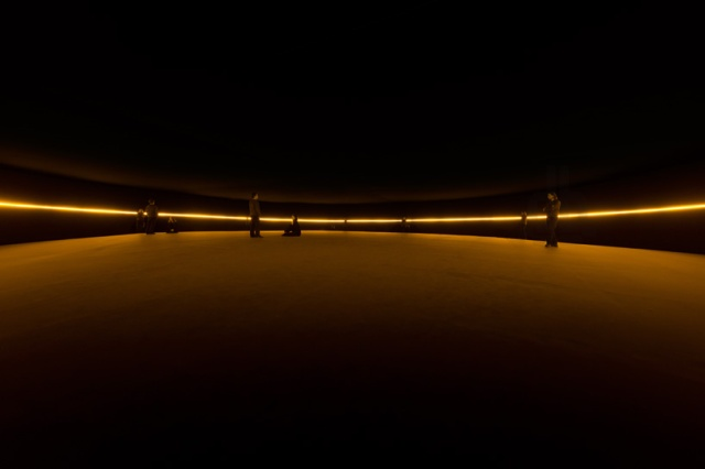 Contact, 2014, Olafur Eliasson, Fondation Louis Vuitton (Foto: Iwan Baan)