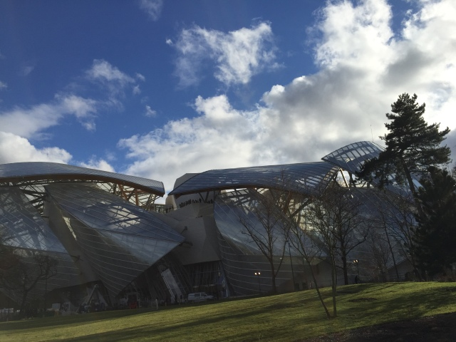 Fondation Louis Vuitton, Paris, 2014, Frank Gehry (Copyright: Ruth Zihlmann)