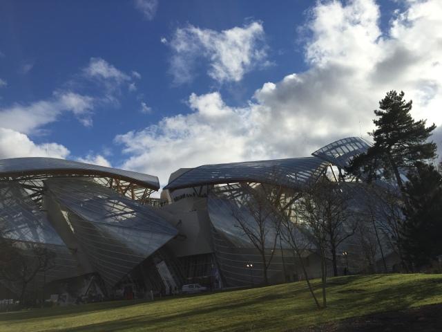 Fondation Louis Vuitton, Paris, 2014, Frank Gehry (Copyright: Ruth Zihlmann)
