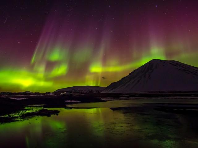 Himmlisches Spektakel: Polarlichter über Island Foto: Promote Iceland/Ragnar Sigurdsson