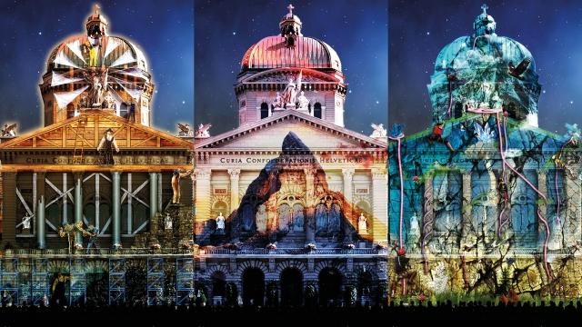 Szenenbilder Rendez-vous Bundesplatz 2015, © Starlight Events/Projektil